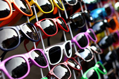 Colorful sunglasses