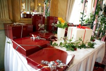 A Table for Wedding Gifts