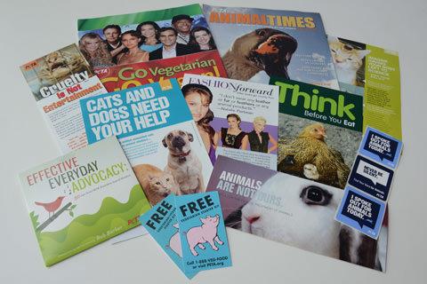 PETA literature