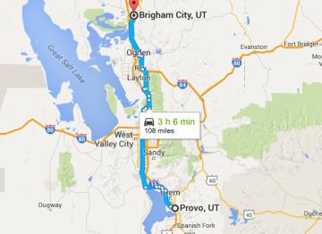 US Highway 89, Utah