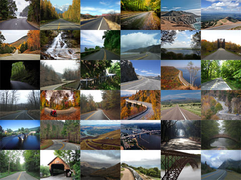 Scenic drives in the US
