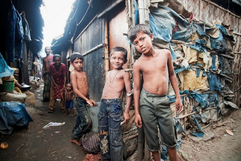 Not everybody in India stays in a slum