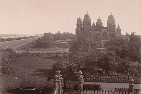 Madras University (estd. 1857), c.1902, via British Library