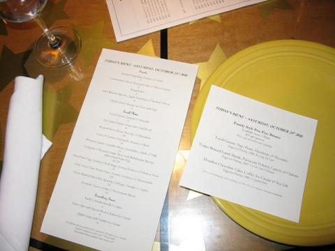 'Nested'-menu