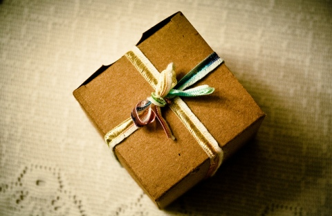 Gift boxes as wedding favors