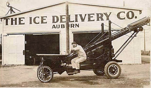 Ice delivery company