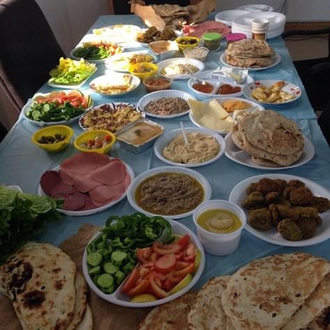 Middle-eastern food