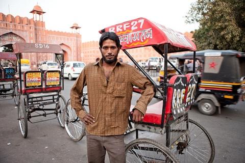 Cycle rickshawalas