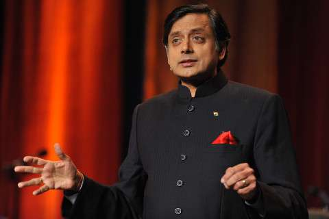 Shashi Tharoor and yoga