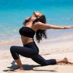 Shammi Gupta: Yoga guru at Andaman beach