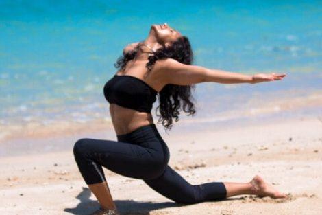 Shammi Gupta: Yoga guru at Andaman beach